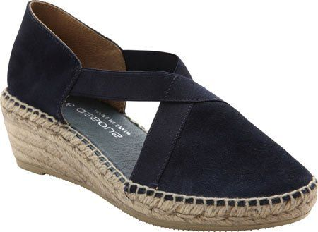 Andre Assous Women's Conner-A Flat, Navy, 36 EU/6 M US *** You can find more details by visiting the image link.