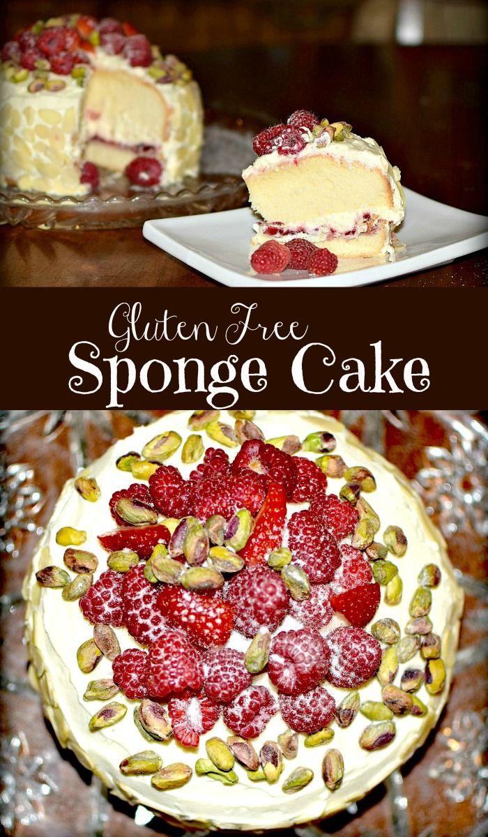 Gluten free sponge cake #spongecake #wellandgood