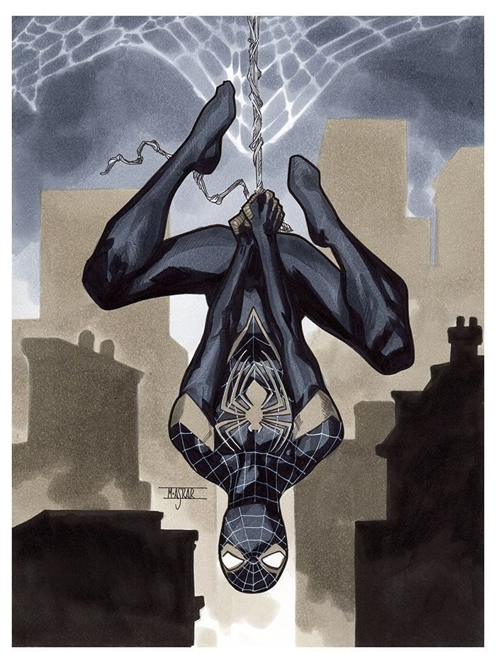 Spider-Man - Thought Bubble 2016 Pre-Show Commission by Mahmud Asrar