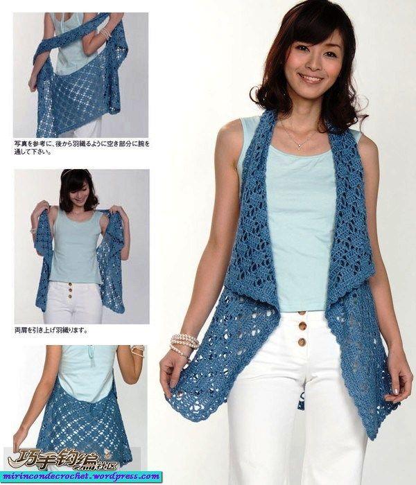 Muy …pero muy fácil….!!!!!   Mi Rincon de Crochet