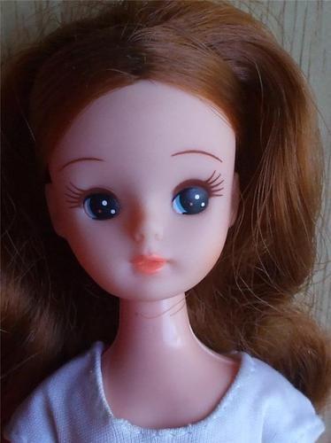 Takara Barbie Doll Japan Red Hair Big Eye Barbie Dolls Takara Tagged Outfit: Big Eye