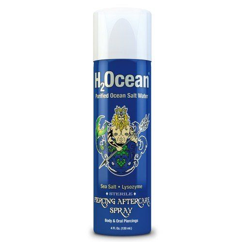 H2Ocean Piercing Spray Cleaning and Healing Solution 4 Fl Oz ** Read more reviews of the product by visiting the link on the image.(It is Amazon affiliate link) #followers