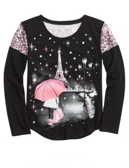 Shop Long Sleeve Photoreal Destination Tee and other trendy girls long sleeve tops & tees at Justice. Find the cutest girls tops & tees to make a statement today.