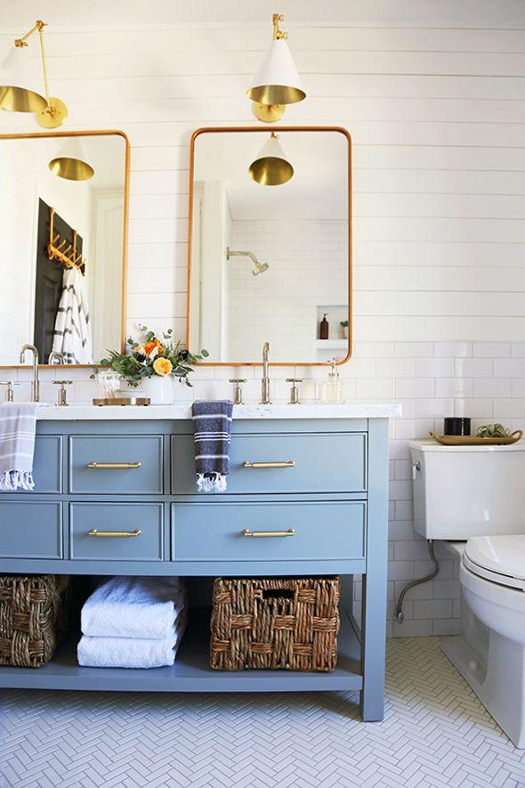 Blue Green Bathroom Vanity: 25+ Best Ideas About Blue Vanity On Pinterest
