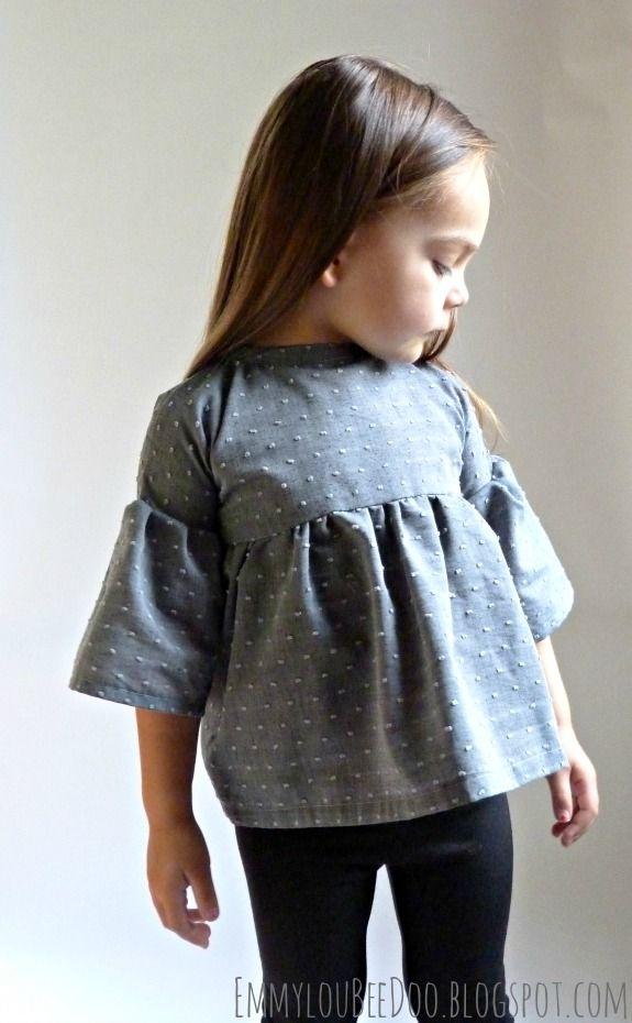EmmylouBeeDoo!: Swiss Dot September Tunic Kids fashion