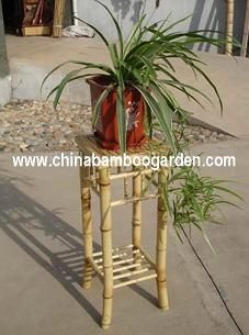 bamboo planter and stand for flower , plant and nursery from china
