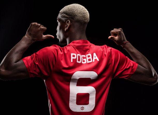 Pogba Resmi Kenakan Nomor Punggung 6 di Manchester United untuk Musim Kompetisi Liga Inggris 2016/2017