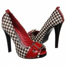 rockabilly fashion styles for women   Rockabilly Shoes Fashion and Style - couldn't handle wearing these for more than 10 minutes, but boy are they cute!
