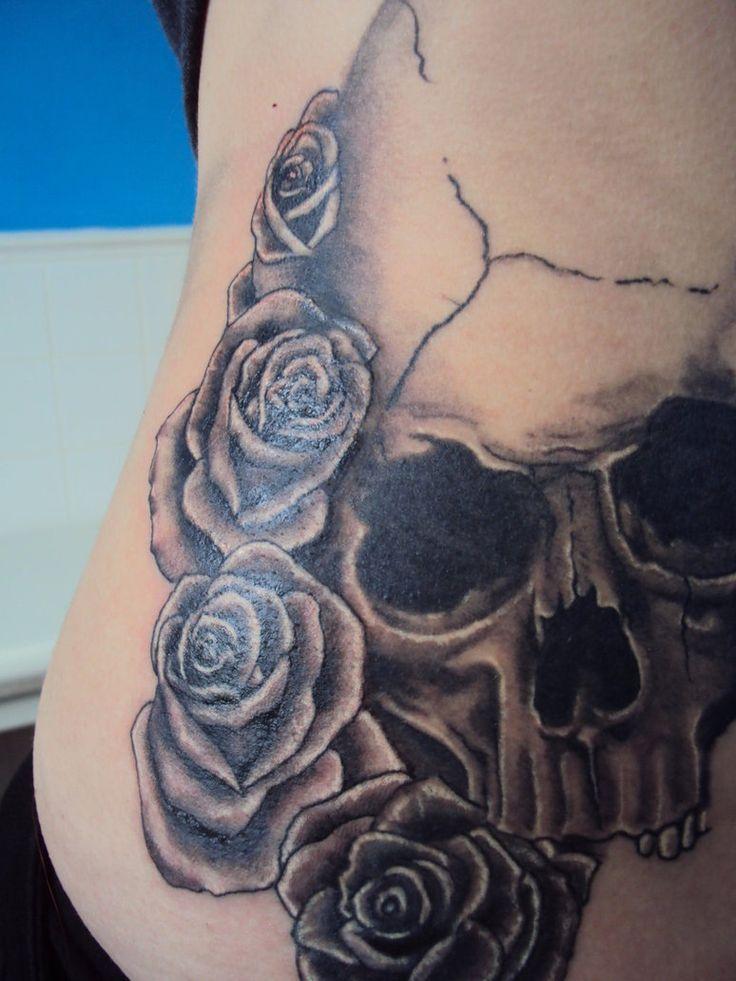 Skull And Rose Tattoos Tumblr Skull Rose Tattoo Tumblr Skull