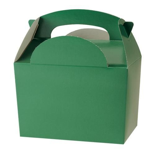 Green party/meal boxes http://www.wfdenny.co.uk/p/forest-green-meal-boxes/2478/