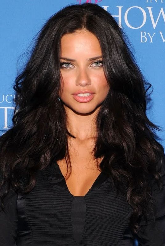 adriana lima curly hair - Google Search