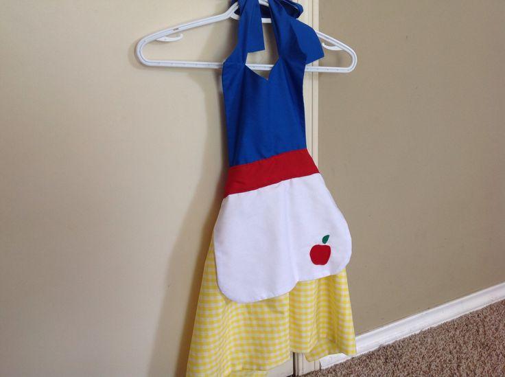 Snow White dress up apron....https://www.etsy.com/ca/shop/WobblyNeedle?ref=search_shop_redirect