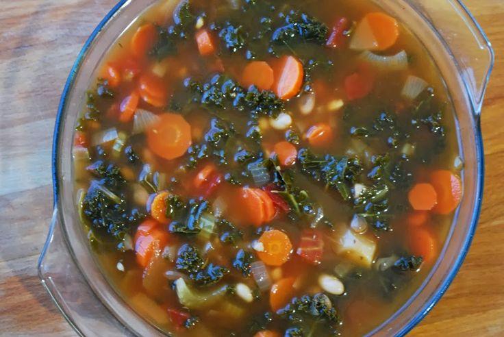 WF's White Bean & Kale Soup. Vegan. Delicious!: White Beans, Hearty ...