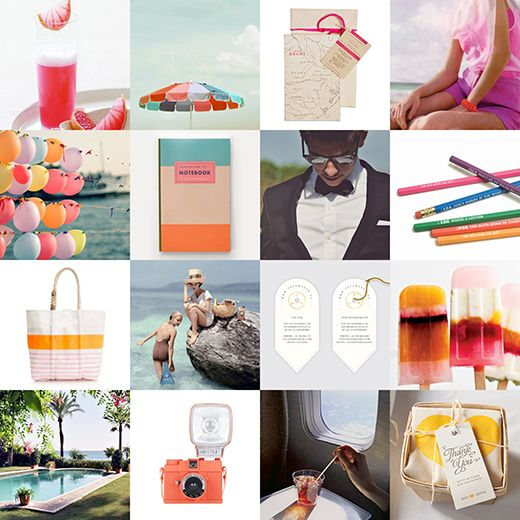 Candy Coloured Beachside Holiday