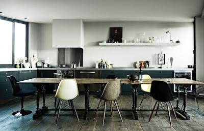 En la cocina #sillas #Cocina #DisenioInterior #Decoracion Vitra Furniture