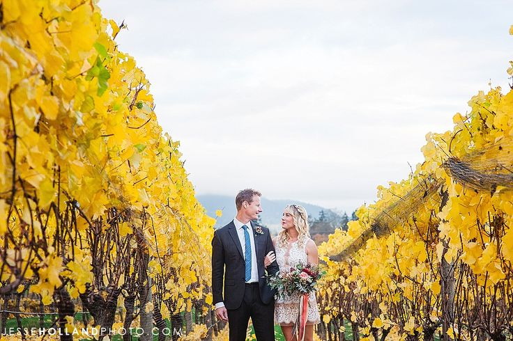 Church and State Fall Wedding by Jesse Holland