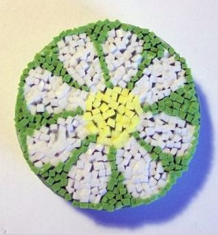 Craft Foam Mosaics - Kid medieval art activities:    Teach kids about medieval artwork. Show them pictures from books or print some offline. There are a lot of different areas you can focus on, illumination, murals, paintings, etc. After you take a minute to teach that to the kids, do an art activity with them – even if it's something that's not period in any way they learned something medieval and then are having fun doing an art project.
