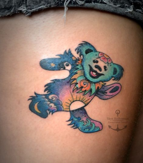 best 25 grateful dead tattoo ideas on pinterest small skull tattoo shamrock social club and. Black Bedroom Furniture Sets. Home Design Ideas