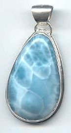 larimar_jewelry - Very similar to the larimar pendant necklace I bought in St Maarten!