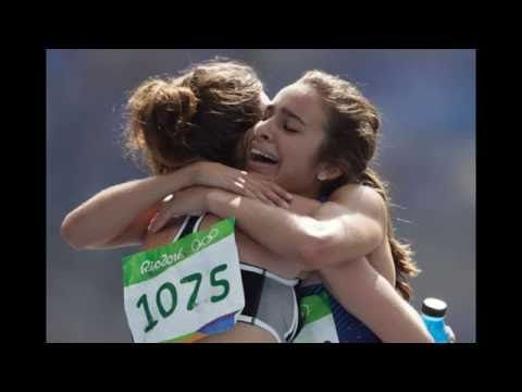 Gymnasts Danell Leyva and Amy Tinkler didn't win gold, but they losing g...