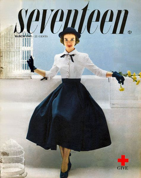Vintage Seventeen Magazine Covers from the 1940s    *Used to have this before someone took my copy