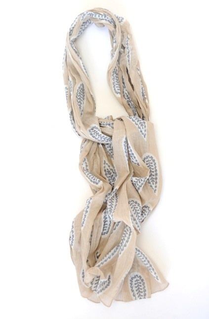 Holiday Dolphin Leaf Scarf from Picsity.com