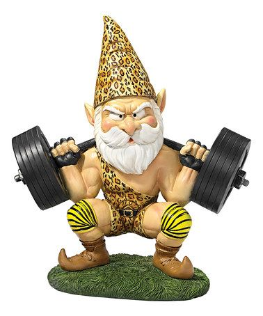 Loving this Atlas the Athletic Weightlifting Gnome Statue on #zulily! #zulilyfinds