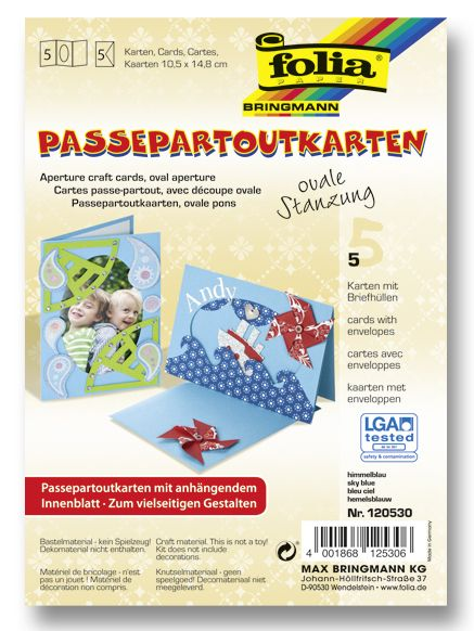 Passepartoutkarten von Max Bringmann - schöne und persönliche Grußbotschaften leicht gemacht. Mehr unter http://www.folia.de/index.php?id=140