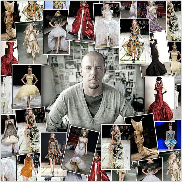 It's just amazing to me that a person could be so creative, so successful and so lauded, and yet come to such an unhappy end personally.  Of course, it lends a mythic aura to everything he touched, but yet it's a cautionary tale for all us artsy types lusting after success, money and acceptance to make us happy.  RIP McQueen.  I think you were amazing.