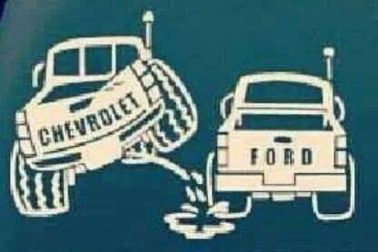 Chevy v ford