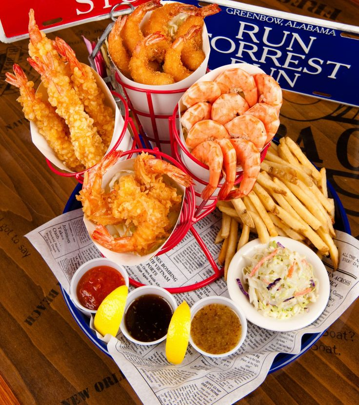 bubba gump shrimp company - shrimper's heaven