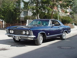 1963 Buick Riviera, one of their best looking cars.