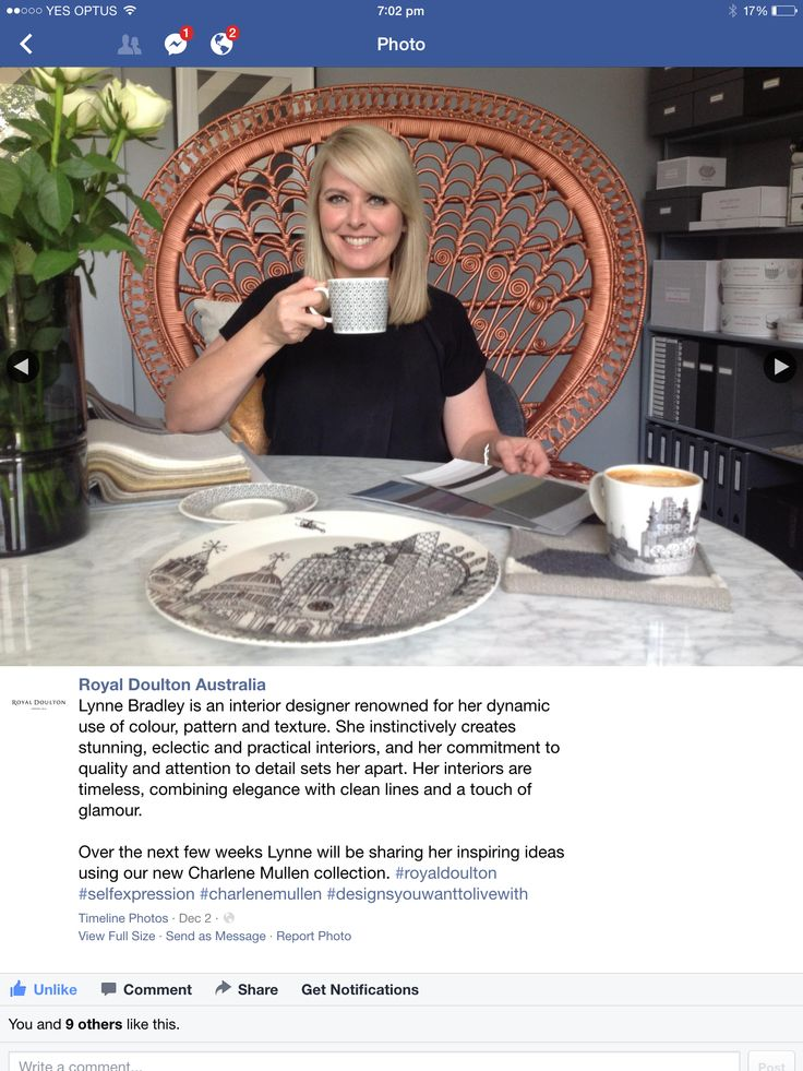 Thrilled and honored to be a Creative Contributor for Royal Doulton Australia!