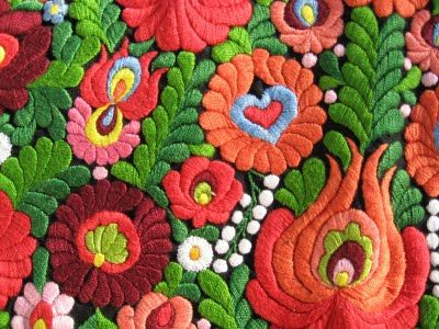 Matyo embroidery- Hungary