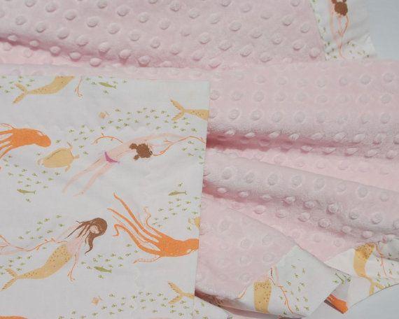Mermaid Baby Blanket by SimplyBocoBaby