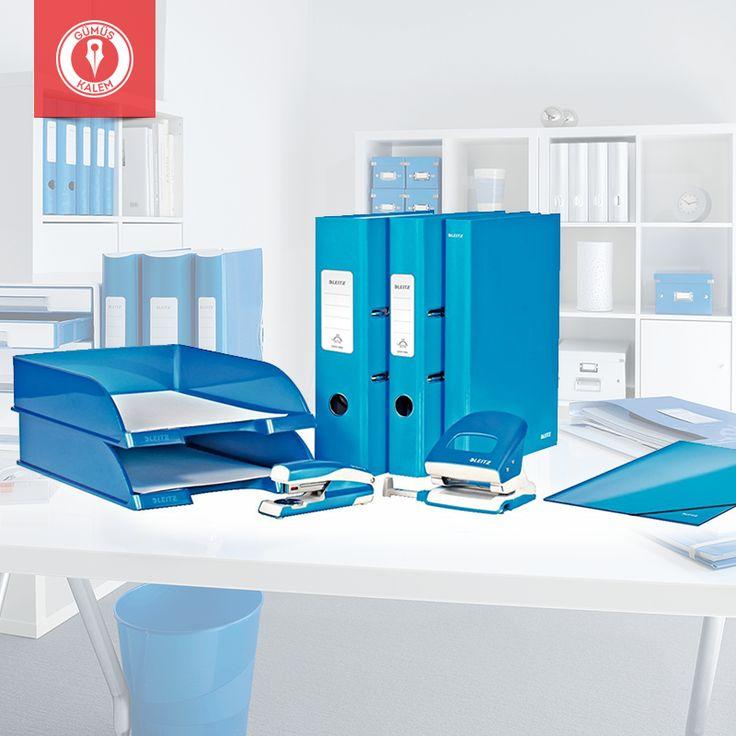 Stil sahibi görünüm, akıllı detaylara sahip klasörler, patentli fonksiyona sahip zımba ve delgeç: Metalik Mavi Leitz Wow Ofis Seti >>> https://goo.gl/cNZq3G