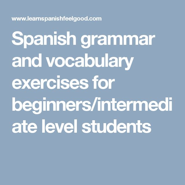 english grammar intermediate level exercises pdf