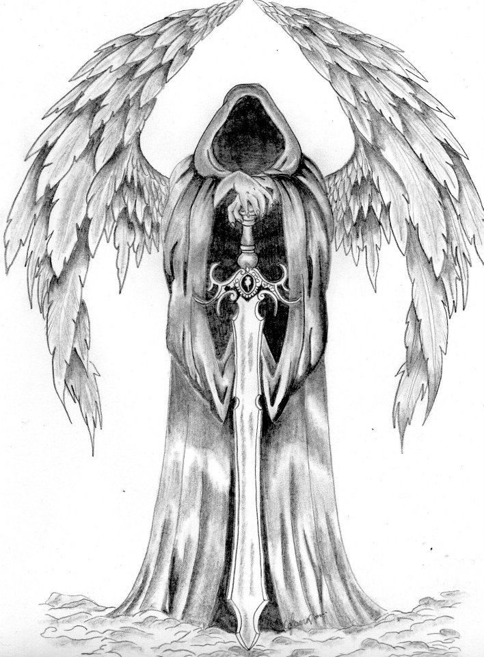 Grim Reaper Pictures Ive Drawn Pinterest