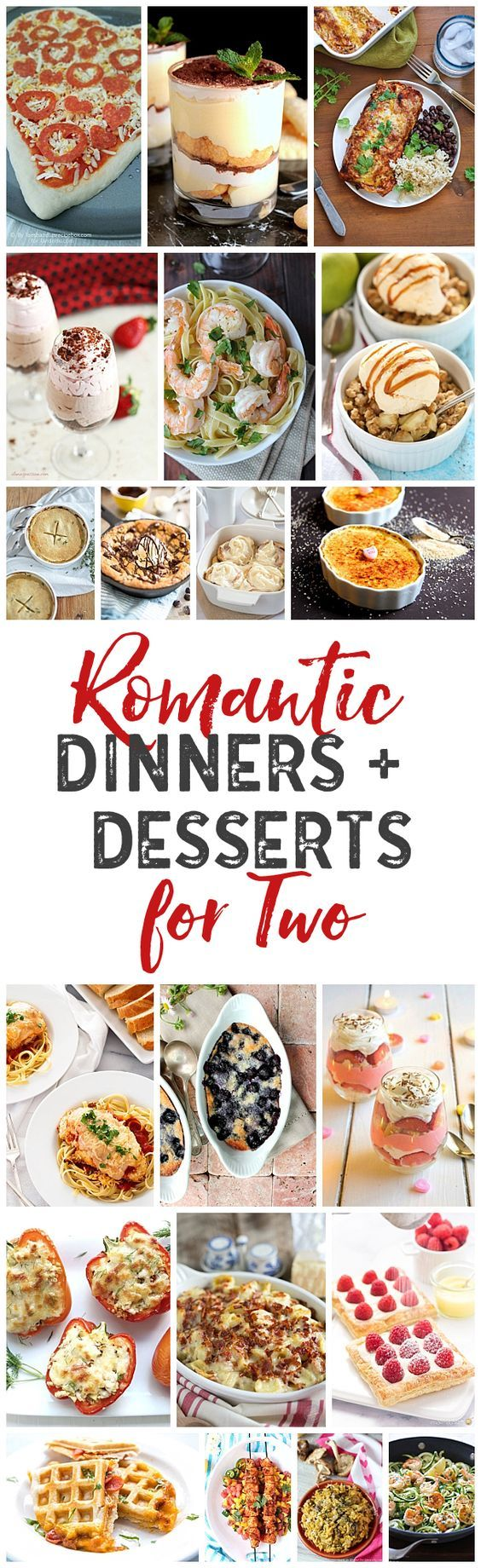 Perfect Dinner And Dessert Ideas For Romantic Nights Dinner For Two For Valentine S Day