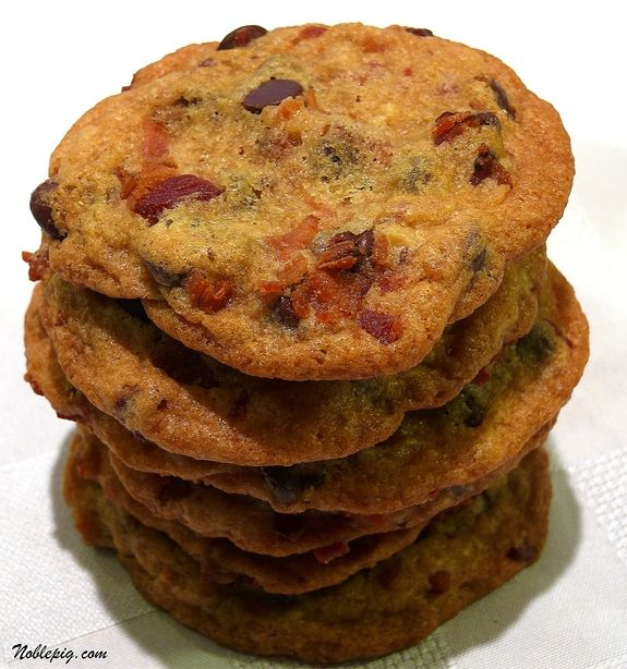 Maple Bacon Chocolate Chip Cookies   Noble Pig