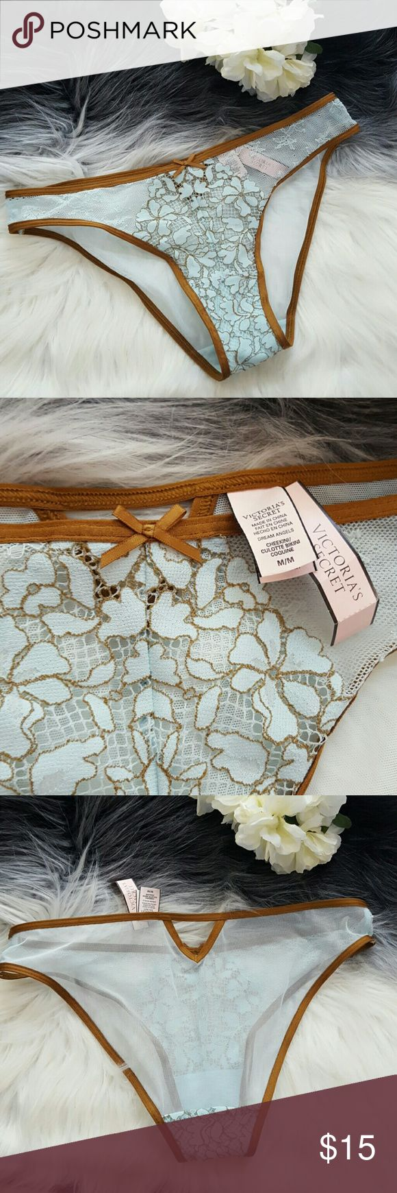 CHEEKINI VICTORIA'S SECRET PANTY Gorgeous transparent lace panties. Brand new!! Victoria's Secret Intimates & Sleepwear Panties