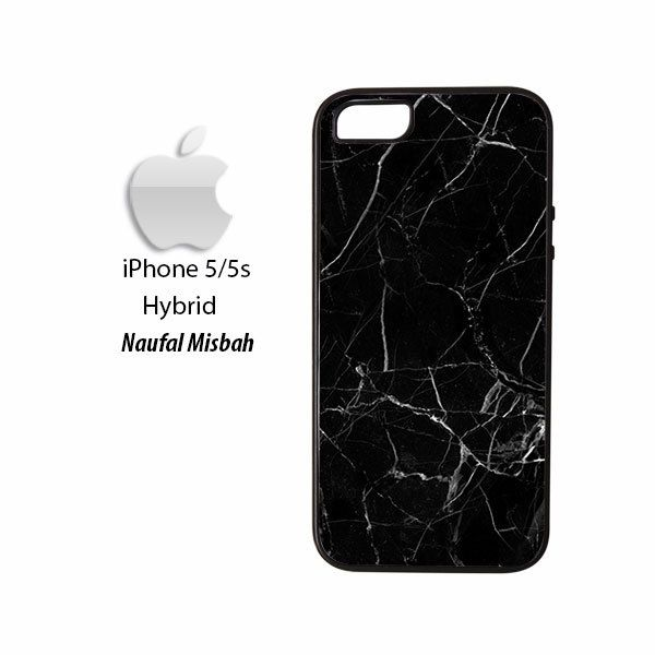 Black Marble iPhone 5/5s HYBRID Case Cover