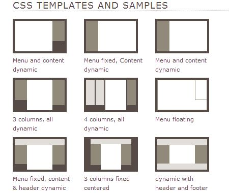 Css layouts best practice wireframe pinterest ui for Table design templates in html