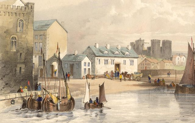 """Liverpool Harbour"", c. 1760 #liverpool #england"