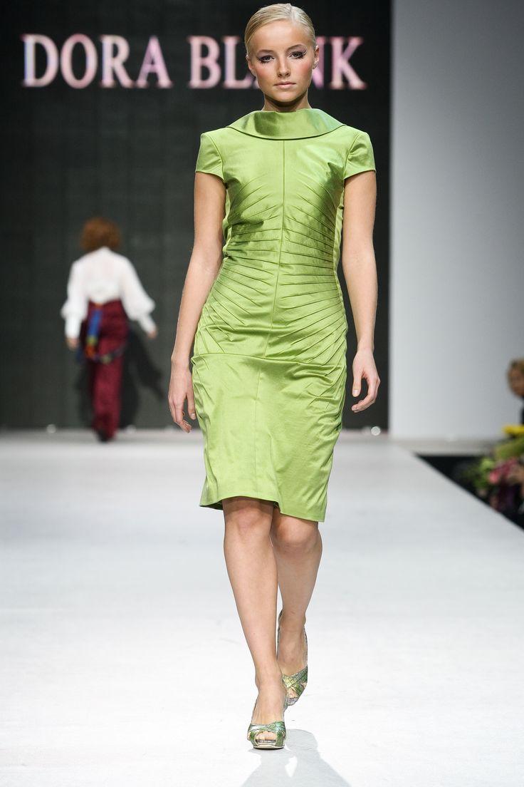 Oxumoro Collection by Dora Blank Couture. Коктельное платье из тафты. Cocktail dress.
