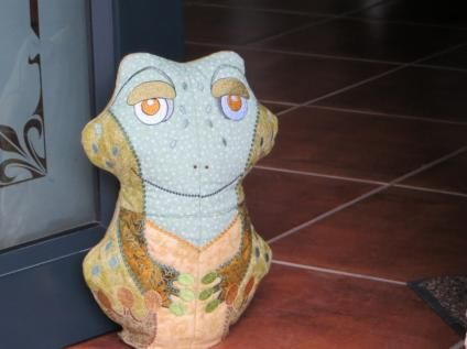 Freddy - the idea for him was by a friend in Australia who is a Frog lover.