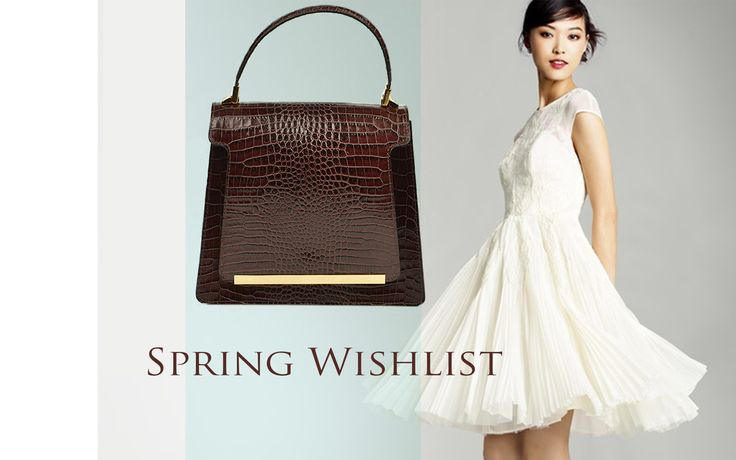 This spring get inspired by our Dark Chocolate Lauren bag; its elegant, stylish design offers you a classy look regardless of the outfit you are wearing. Pair it with a wonderful nude dress and you'll spread sparkles of beauty everywhere!