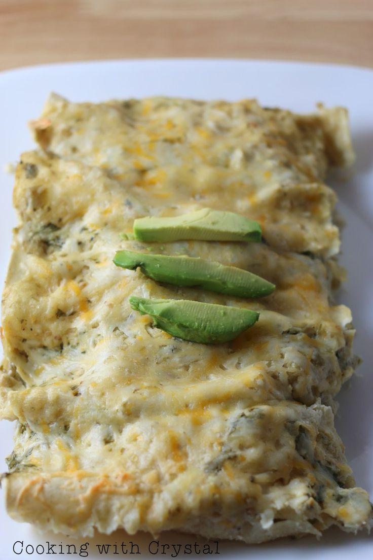 avocado enchiladas+cookingwithcrystal