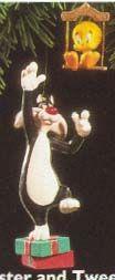 1995 Looney Tunes Sylvester & Tweety Set Of 2
