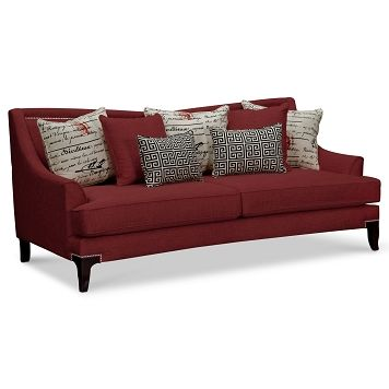 Paris Upholstery Sofa   Value City Furniture $799.99